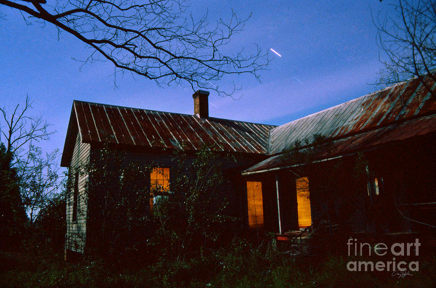 Farm House Photograph - Glowing On The Inside by Craig Dykstra
