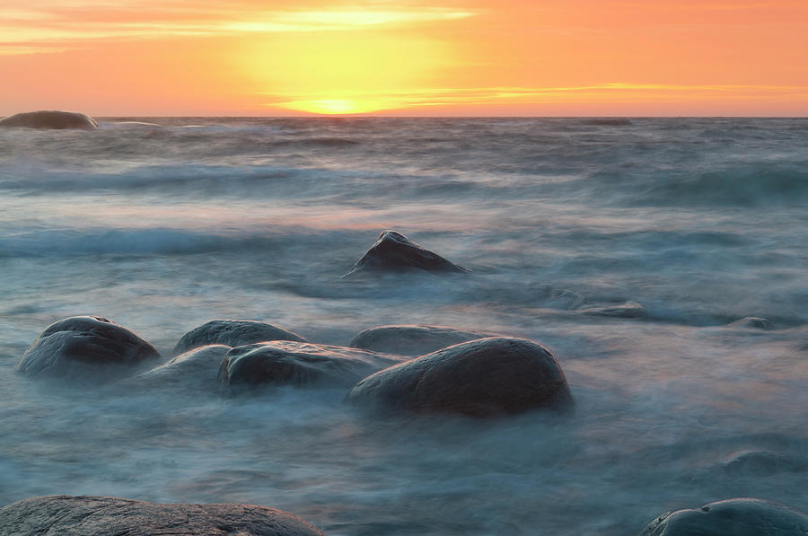 Glowing Sunset Photograph by Clagge