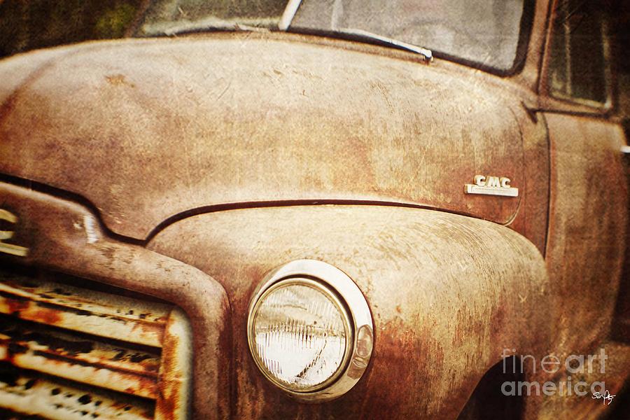 Truck Photograph - GMC by Scott Pellegrin