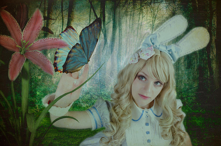 Alice In Wonderland Photograph - Go Ask Alice by Christine Holding