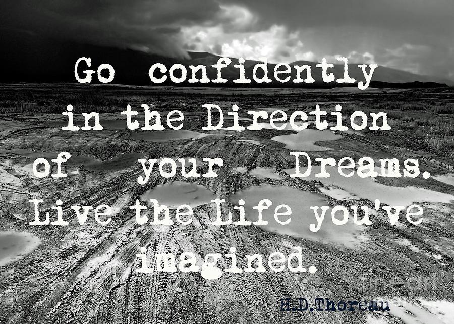 Go confidently by Karla Weber