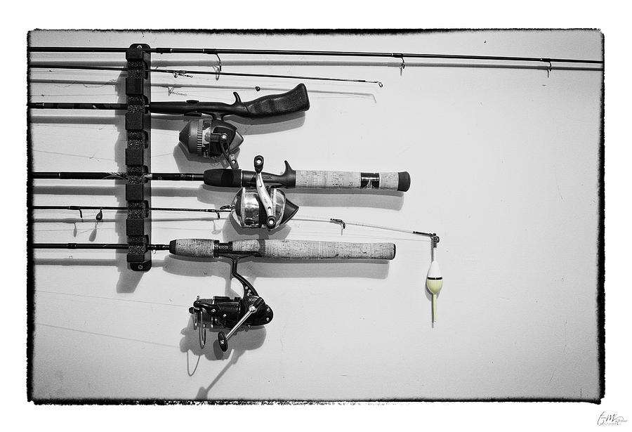 Grunge Photograph - Go Fish - Art Unexpected by Tom Mc Nemar