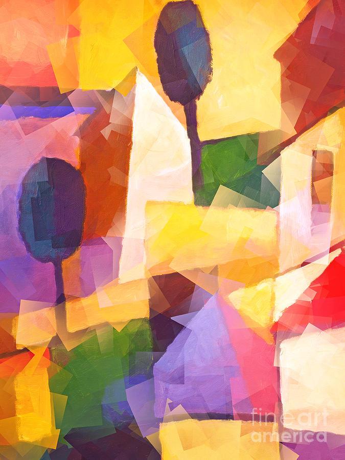 Go South Painting - Go South by Lutz Baar