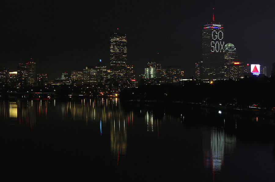 Boston Photograph - Go Sox by Juergen Roth
