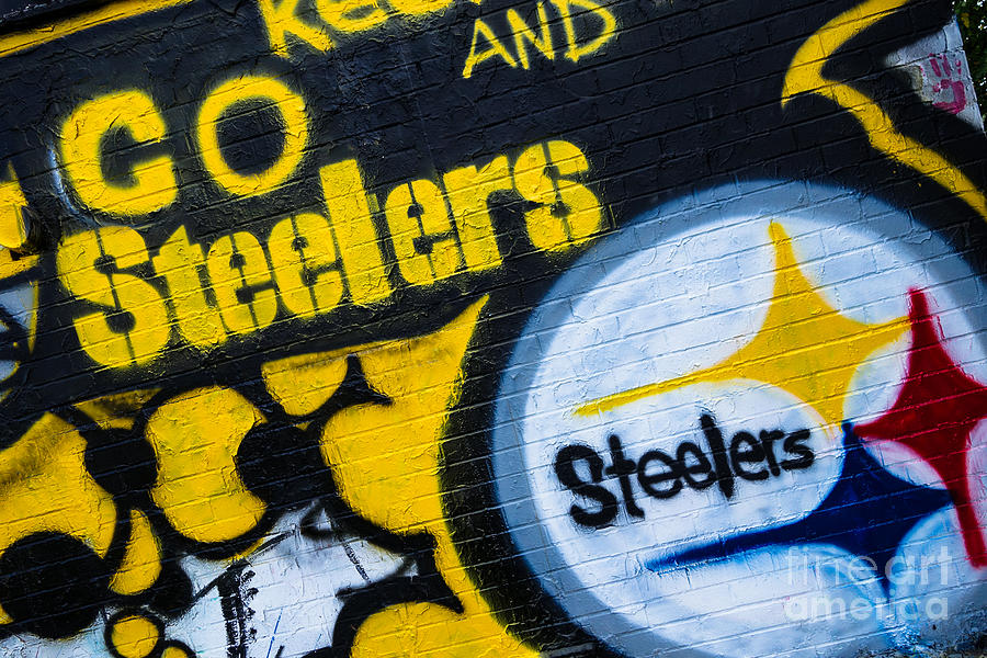 Go Steelers Graffiti Photograph By Amy Cicconi