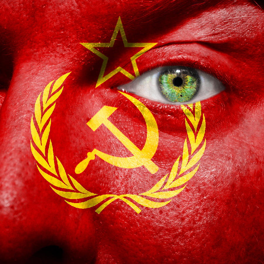 Blue Photograph - Go Ussr by Semmick Photo