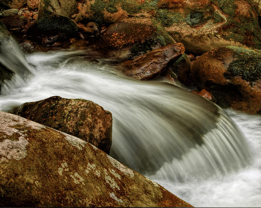 Water Photograph - Go With The Flow by Dave Bosse