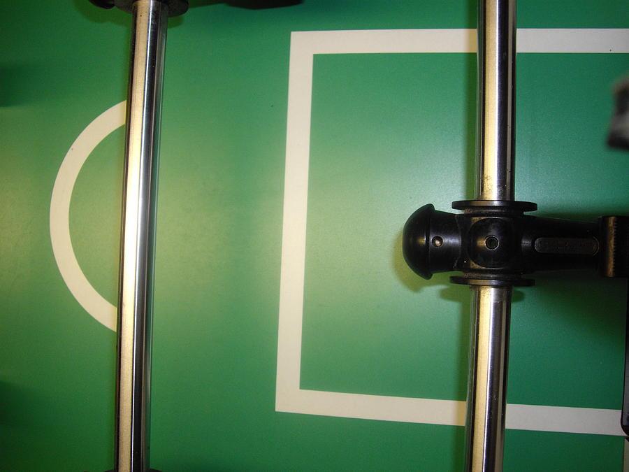 Foos Ball Painting - Goal Keeper by Robert Cunningham