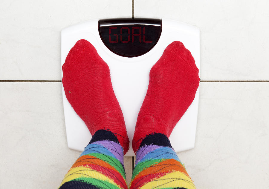 Goal Weight Photograph by Lisa Stokes