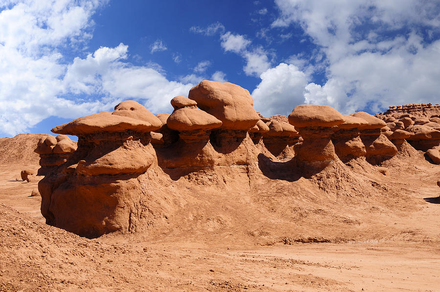 Hanksville Photograph - Goblin Valley by Don and Bonnie Fink