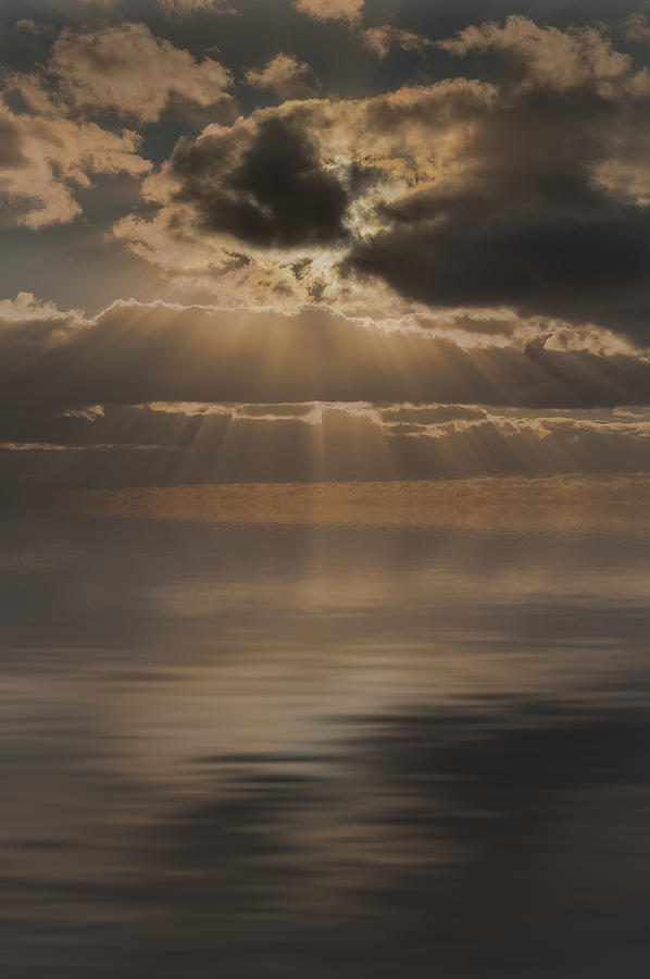 God Rays Photograph - God At Work by Andy Astbury