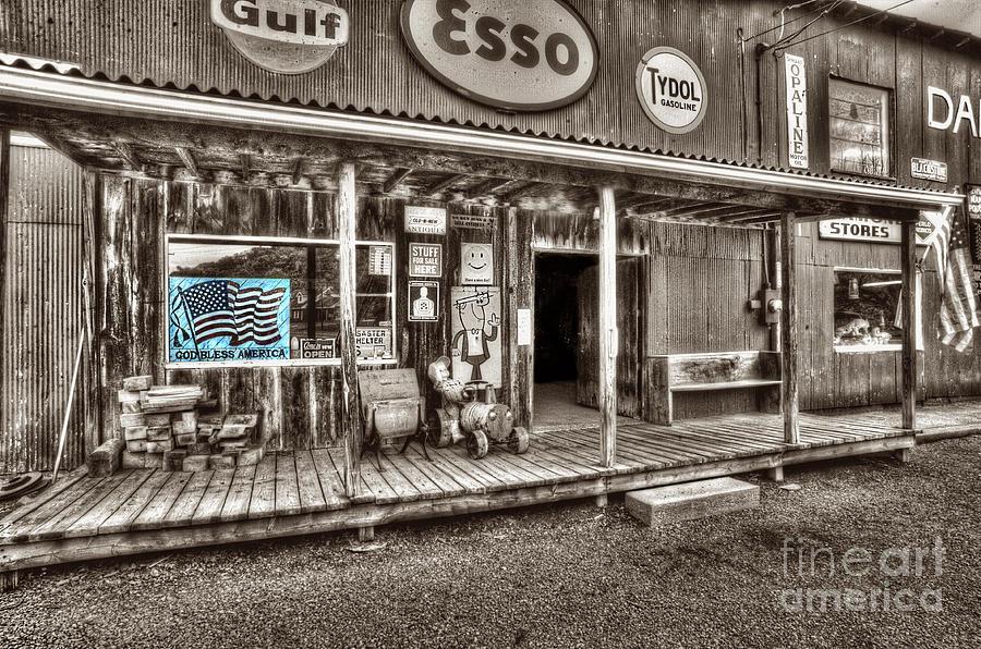 Store Photograph - God Bless America by Dan Friend