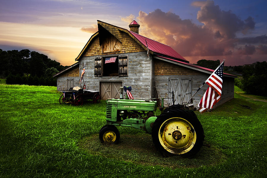 American Photograph - God Bless America by Debra and Dave Vanderlaan