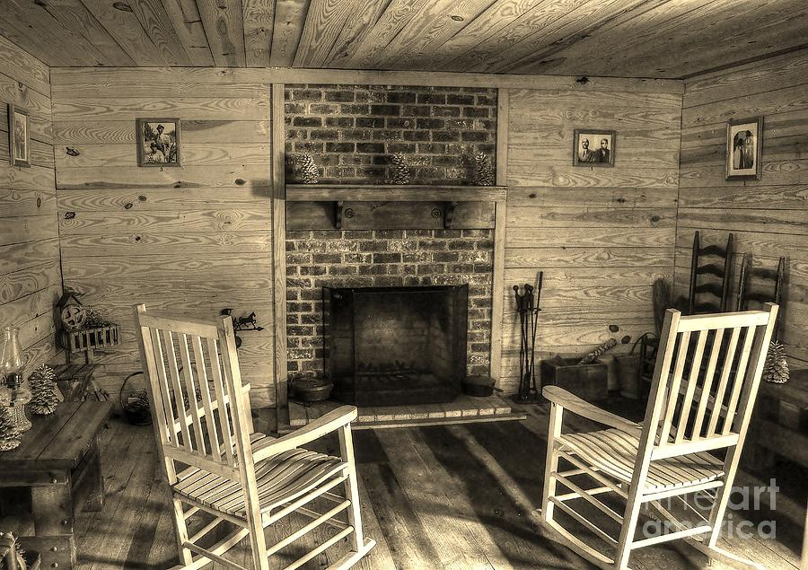 Historic Photograph - God Bless Our Home by Kathy Baccari