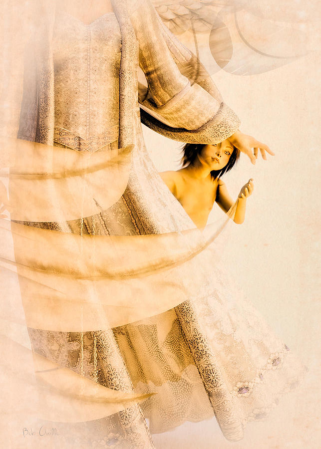 Angel Digital Art - God Bless This Child by Bob Orsillo