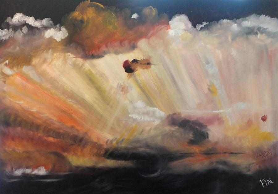 God Painting - God Is Truly Mighty by PainterArtist FIN