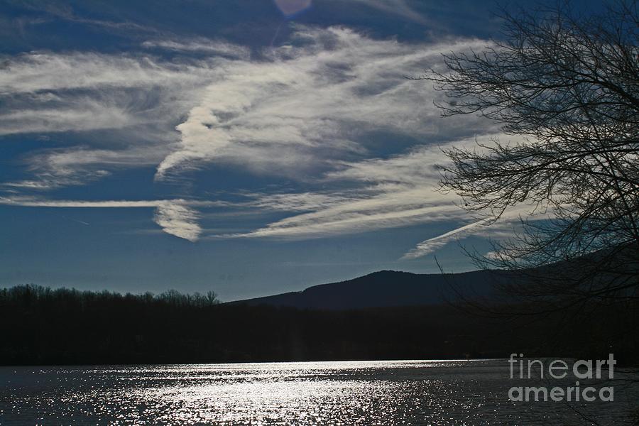 God Paints The Sky Photograph