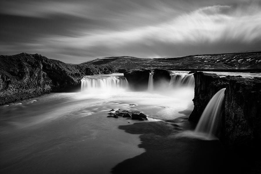 Godafoss Photograph - Godafoss by Dave Bowman