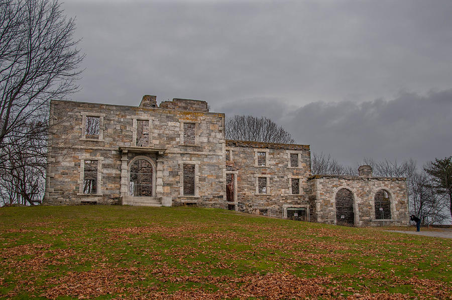 Cape Elizabeth Me Photograph - Goddard Mansion by Guy Whiteley