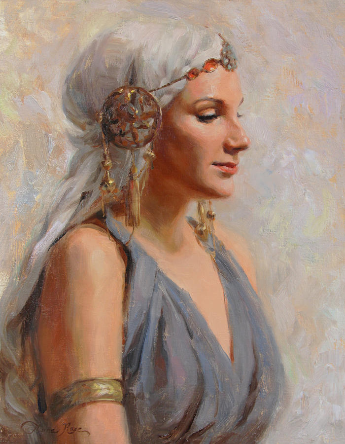 Goddess Painting - Goddess by Anna Bain