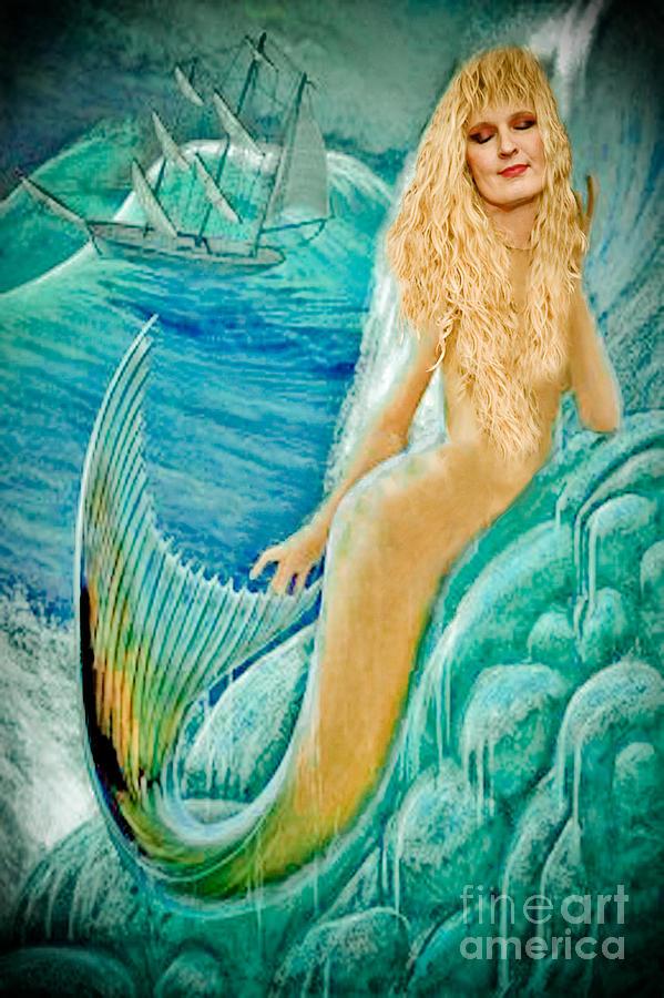 Mermaid Photograph - Goddess Atargatis 1000 Bc by Gary Keesler
