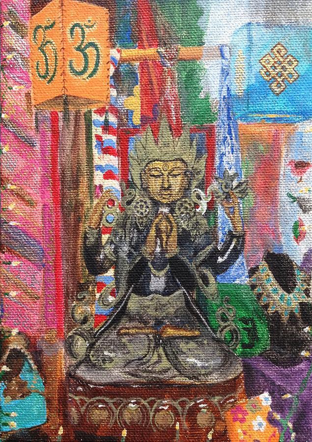 Buddha Goddess by Chrissey Dittus