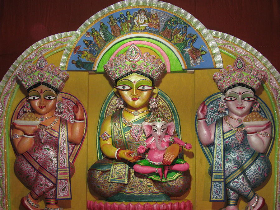 Religion Photograph - Goddess Durga by Pradip kumar  Paswan