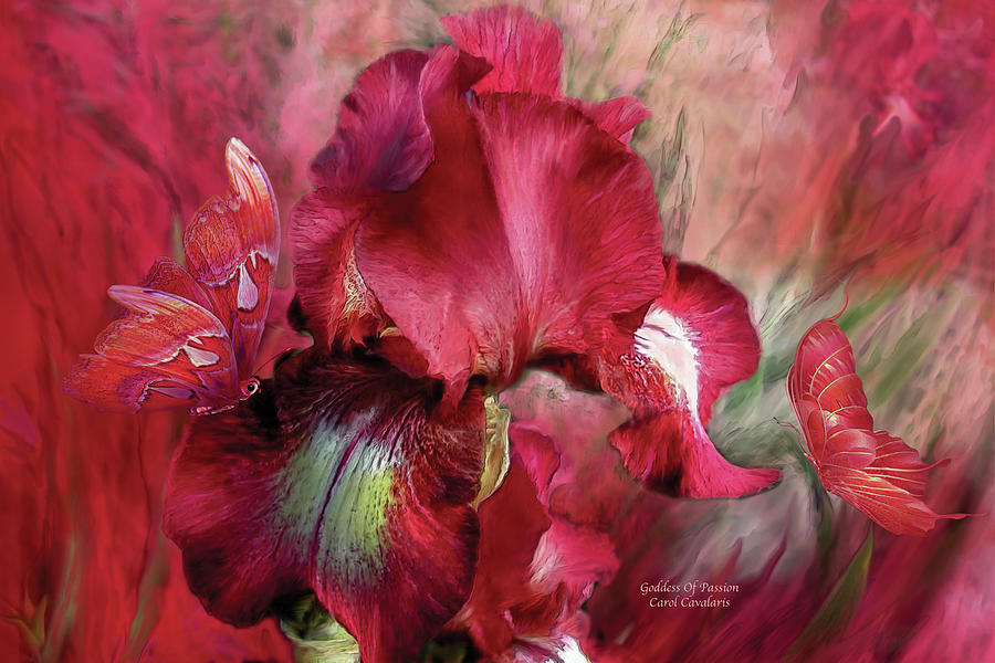 Goddess Of Passion by Carol Cavalaris