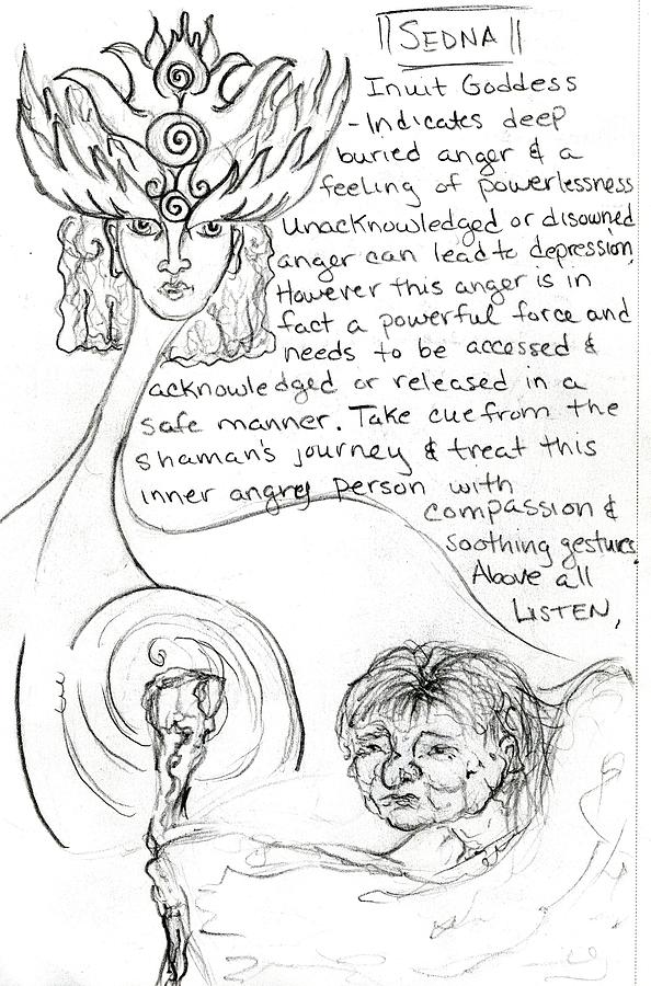 goddess sketch 26 by Suzan  Sommers