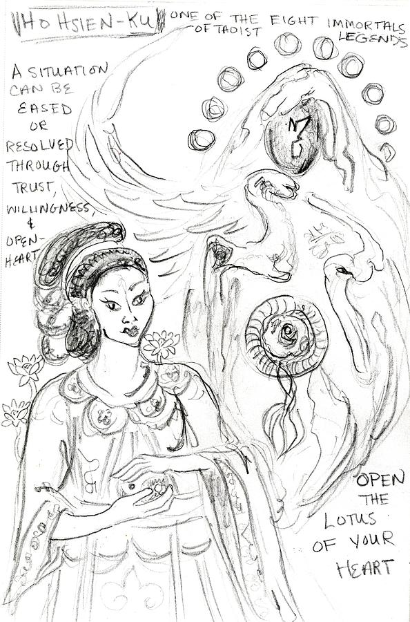 goddess sketch 35 by Suzan  Sommers