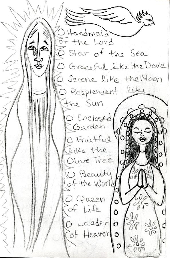 goddess sketch 44 by Suzan  Sommers