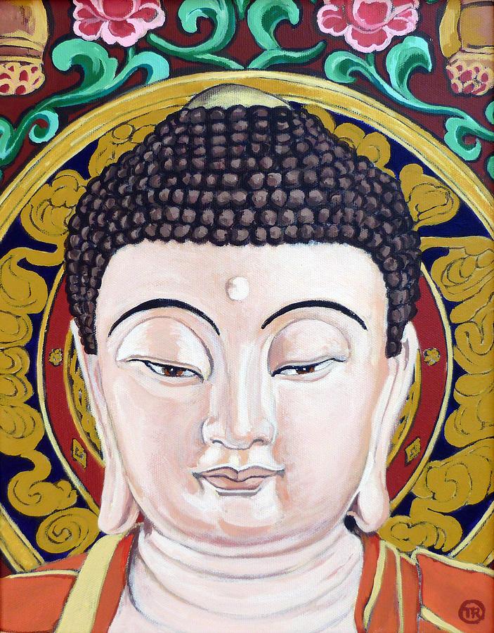 Tara Painting - Goddess Tara by Tom Roderick