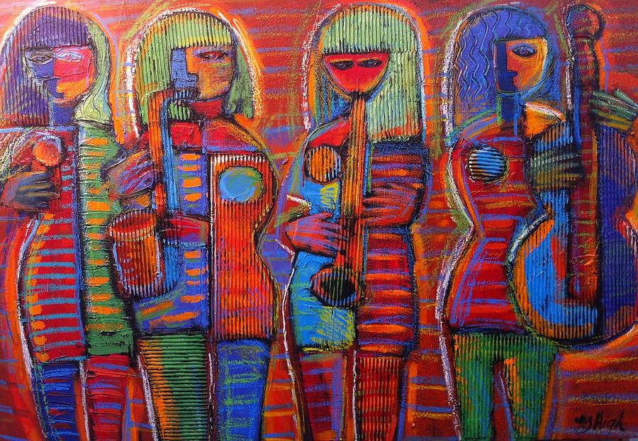 Goddess's of Music Bring us Jazz by Gerry High