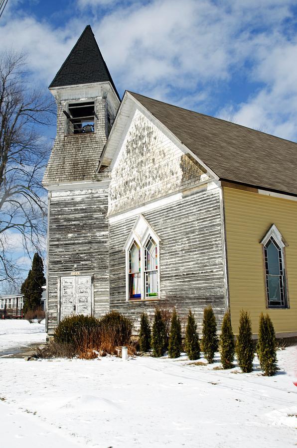 Church Photograph - Gods House by Cheryl Cencich