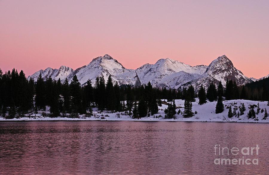 Molas Lake Photograph - Gods Light Painting At Molas Lake by Kelly Black