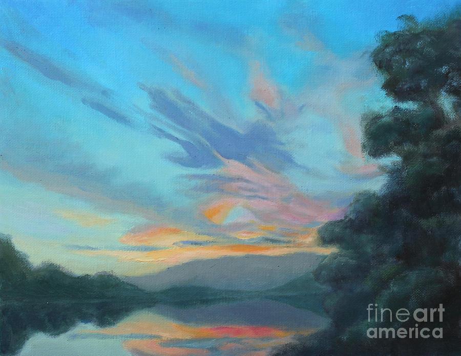Peace Painting - Gods Morning by Karen Burkland