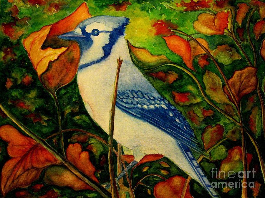 Blue Jay Photograph - Gods New Creation  by Hazel Holland