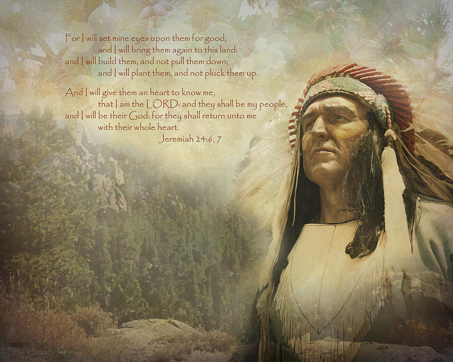Indian Photograph - Gods Promise by Terry Eve Tanner