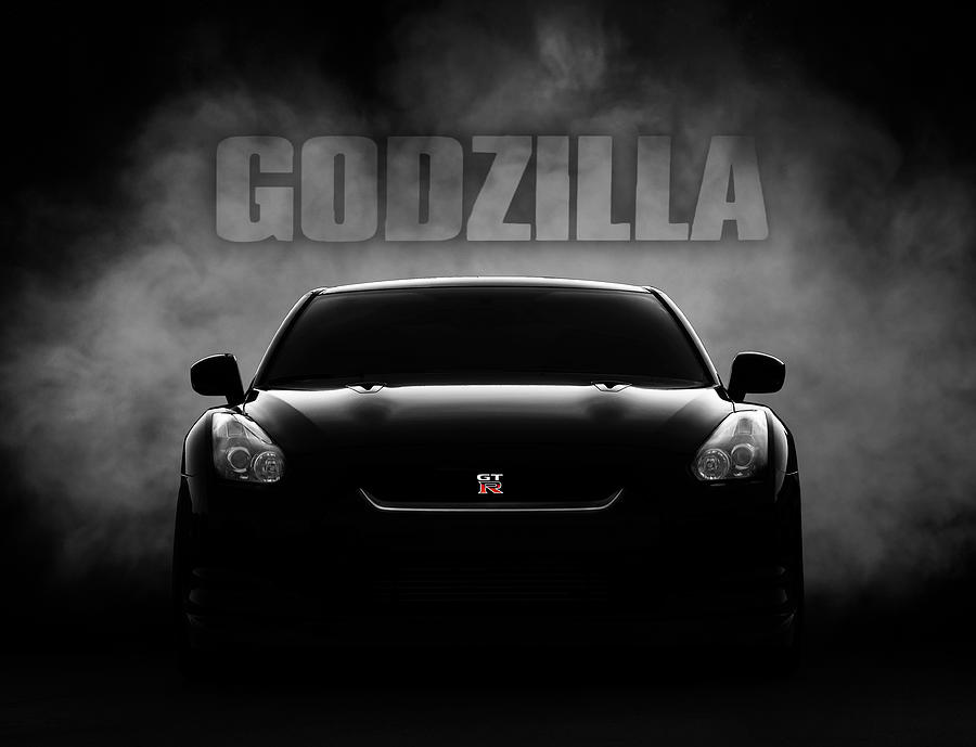 Gtr Digital Art - Godzilla by Douglas Pittman