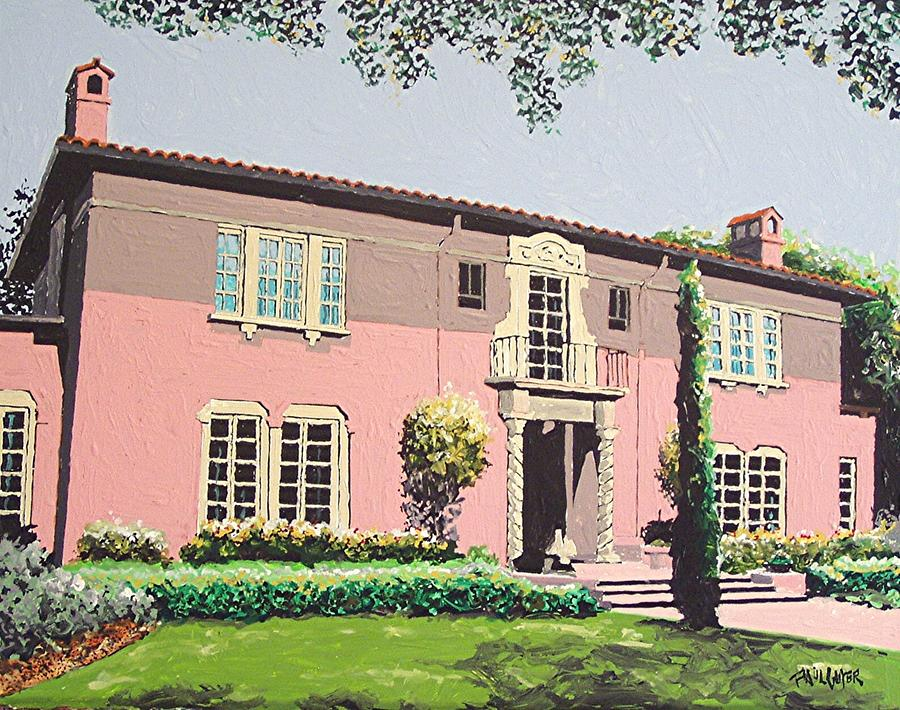 Sacramento Painting - Goethe House by Paul Guyer