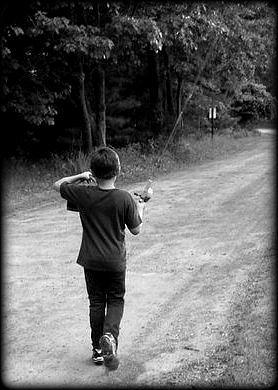 Boy Photograph - Goin Fishing by Terri K Designs