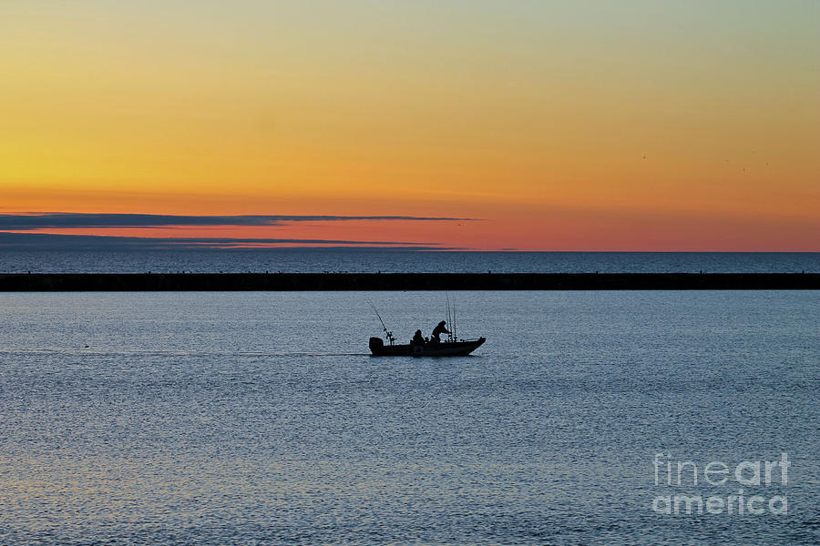 Fishing Photograph - Going Fishing 2 by Eric Curtin