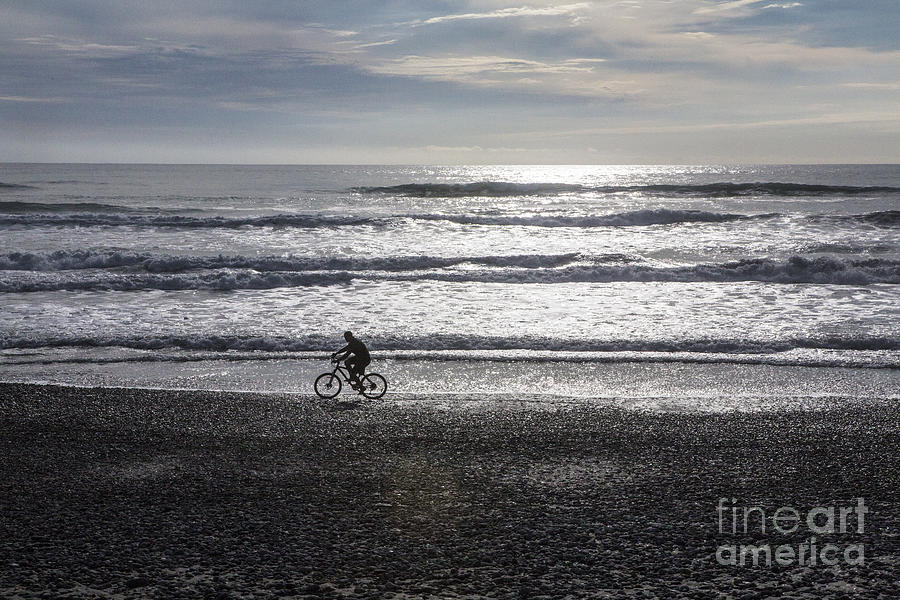 Bicycle Photograph - Going Home by Sheila Smart Fine Art Photography