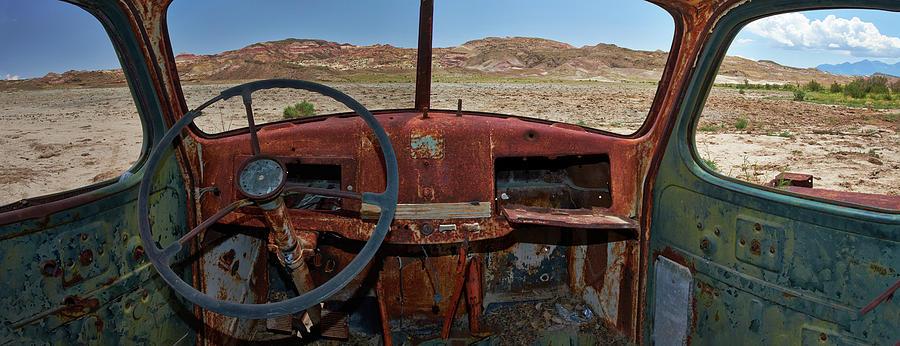 Truck Photograph - Going Nowhere... by Dennis D Croxall