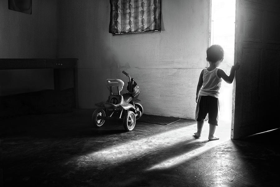 Sulawesi Photograph - Going To Play by Ivan Valentino