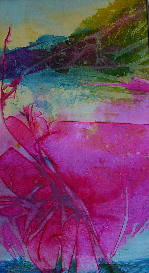 Tropical Painting - Going Tropical by Mary Sullivan