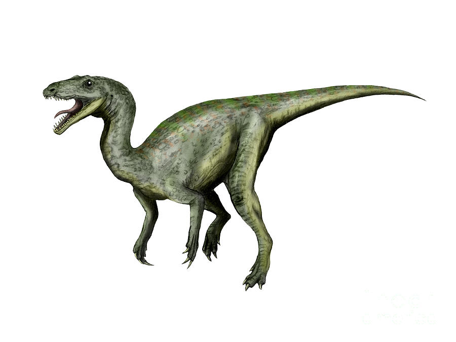 Gojirasaurus Dinosaur Digital Art