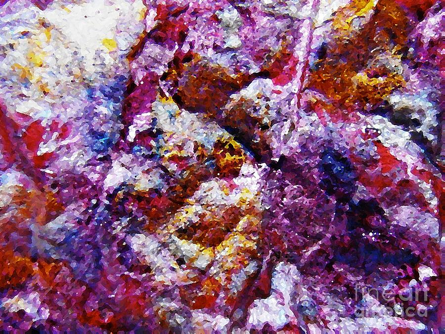 Abstract Photograph - Gold And Glitter 41 by Sarah Loft