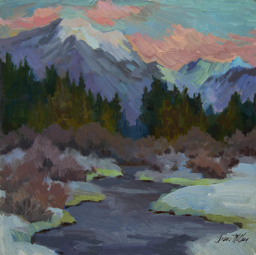 Gold Creek Painting - Gold Creek Snoqualmie Pass by Diane McClary