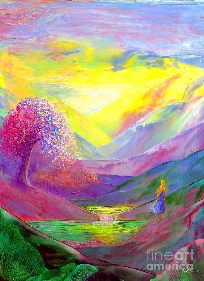 Gold Horizons Painting